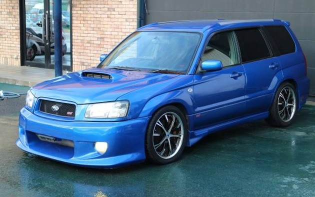 subaru forester sti for sale in japan jdm expo. Black Bedroom Furniture Sets. Home Design Ideas