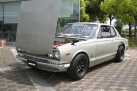 0 km brand new Nissan Skyline Coupe GTR 1971 Hakosuka KPGC10 GTR for sale at  JDM EXPO Japan (N. 7736)