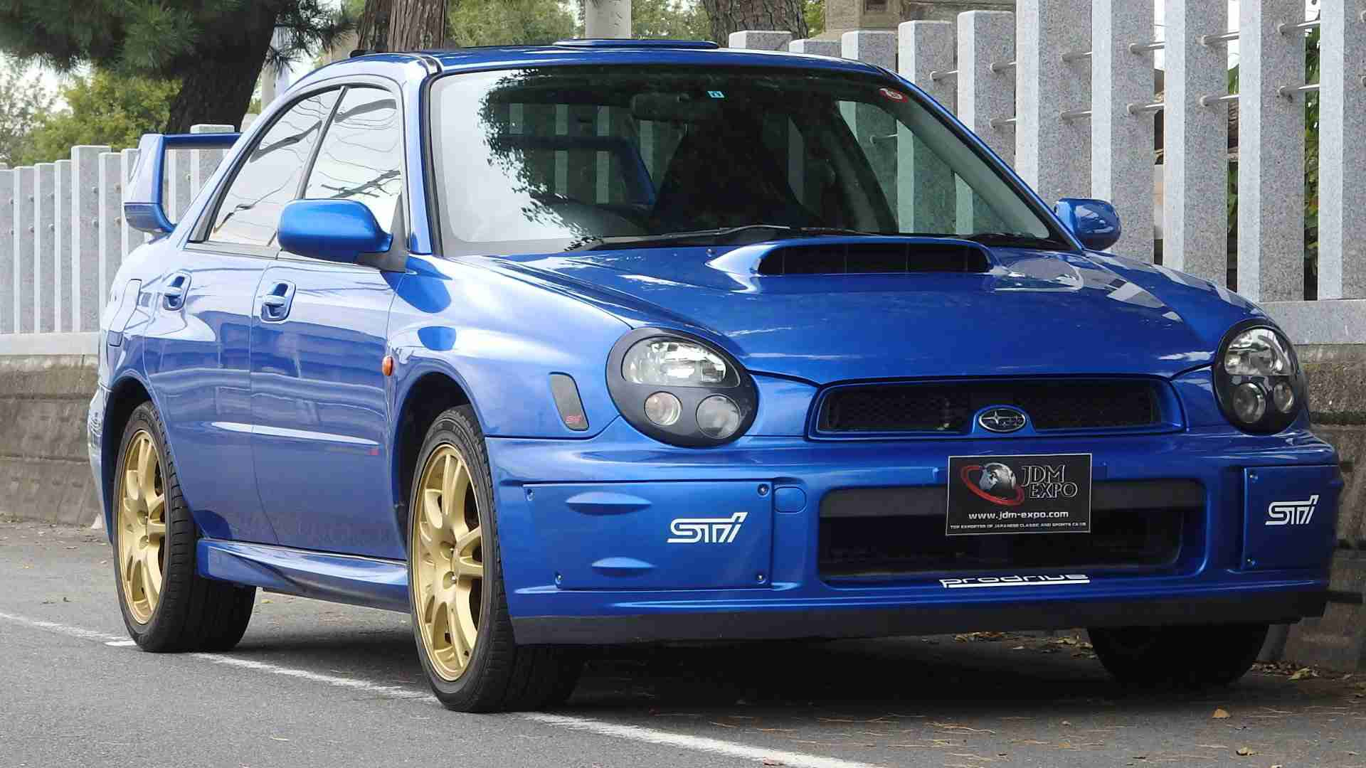subaru impreza wrx sti for sale at jdm expo japan import jdm cars. Black Bedroom Furniture Sets. Home Design Ideas
