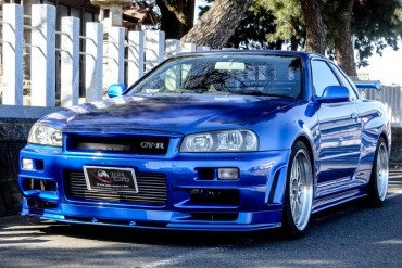 Nissan GTR R34 V-spec for sale JDM EXPO (N.8065)