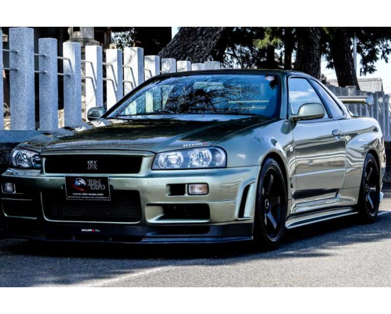 Nissan Gtr R34 For Sale >> Nissan Skyline Gtr V Spec Ii Nur Millennium Jade Low Mileage For Sale