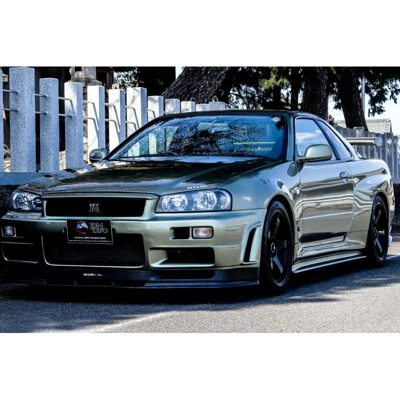 Nissan skyline GTR V spec II Nur Millennium Jade low ...