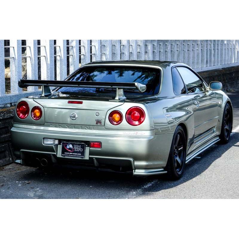 Skyline Gtr R34 For Sale >> Nissan skyline GTR V spec II Nur Millennium Jade low mileage for sale