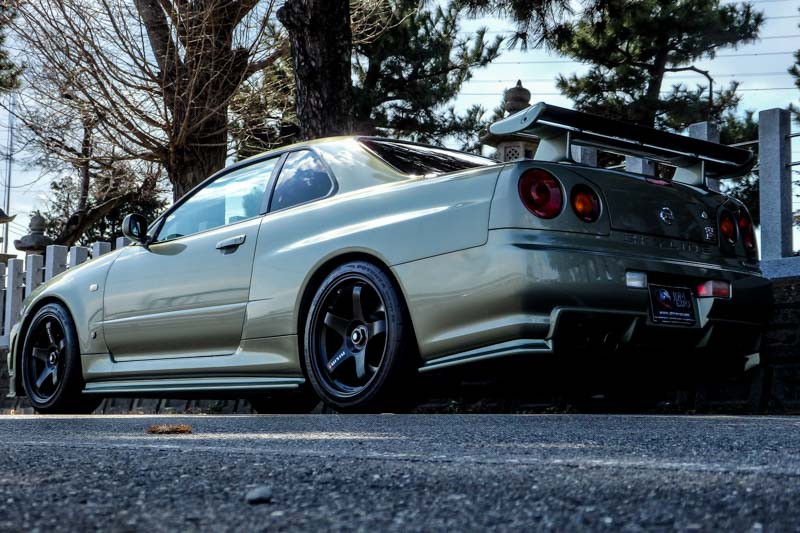 Nissan Fairlady Z >> Nissan skyline GTR V spec II Nur Millennium Jade low mileage for sale