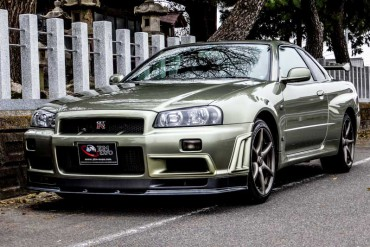 Nissan GTR R34 M-spec NUR for sale JDM EXPO (N.8074)
