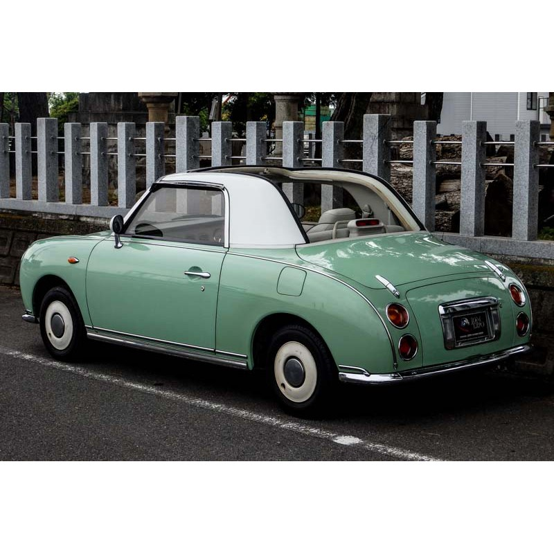 Nissan Figaro for sale at JDM EXPO Japan
