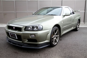 Nissan GTR R34 M-spec NUR for sale JDM EXPO (N.8096)