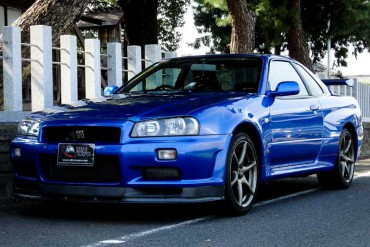 Nissan GTR R34 V-spec II NUR for sale JDM EXPO (N.8109)