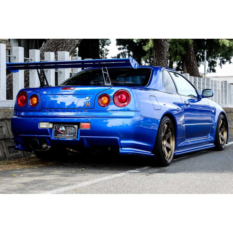 Nissan Skyline GT-R R34 Bayside Blue For Sale Import JDM