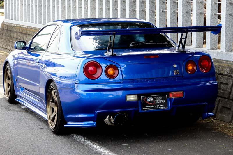 Nissan Skyline Gt R R34 Bayside Blue For Sale Import Jdm