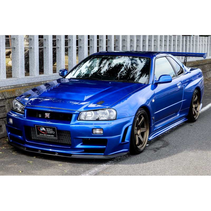 Nissan Skyline GT-R R34 Bayside blue for sale Import JDM ...