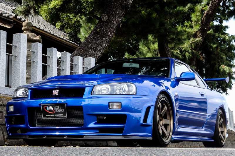 Nissan Skyline Gtr For Sale >> Nissan Skyline GT-R R34 Bayside blue for sale Import JDM cars to USA