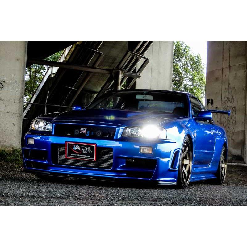 Nissan Skyline GT-R R34 Bayside blue for sale Import JDM ...