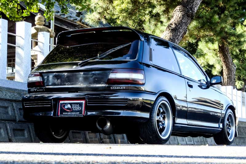 Toyota Starlet Ep82 For Sale At Jdm Expo Import Jdm Cars To Usa Uk Aus