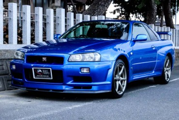 Nissan GTR R34 V-spec  for sale JDM EXPO (N.8132)