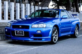 Nissan Skyline GTR R34 V spec for sale (N.8132)