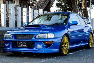 Subaru IMPREZA STI LIMITED VERSION for sale JDM EXPO (N.8150)