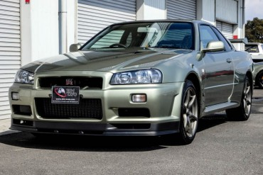 Nissan GTR R34 V-spec II NUR for sale JDM EXPO (N.8068)