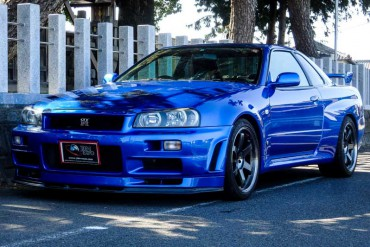 Nissan Skyline GTR R34 for sale JDM EXPO (N.8178)