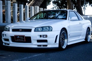 Nissan Skyline GTR R34 for sale JDM EXPO (N.8179)