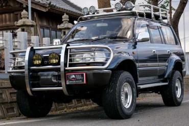 LAND CRUISER VX TURBO DIESEL 4WD for sale JDM EXPO (N.8199)