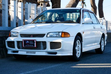 Mitsubishi Lancer Evo III for sale JDM EXPO (N.8220)