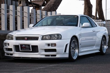 Nissan Skyline GTR R34 for sale JDM EXPO (N.8233)
