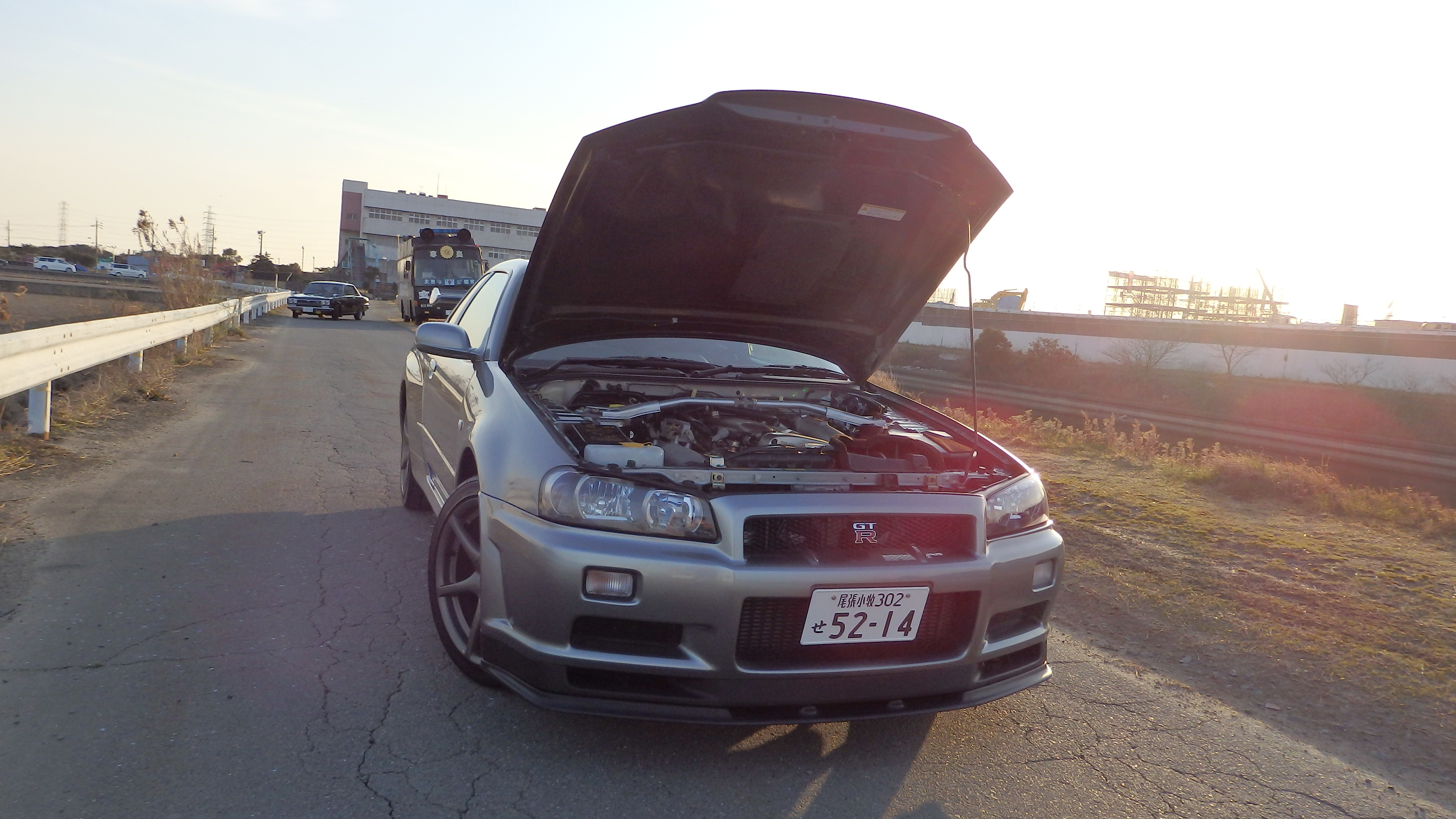 Nissan Skyline GTR R34 V spec II Nur for sale in Japan