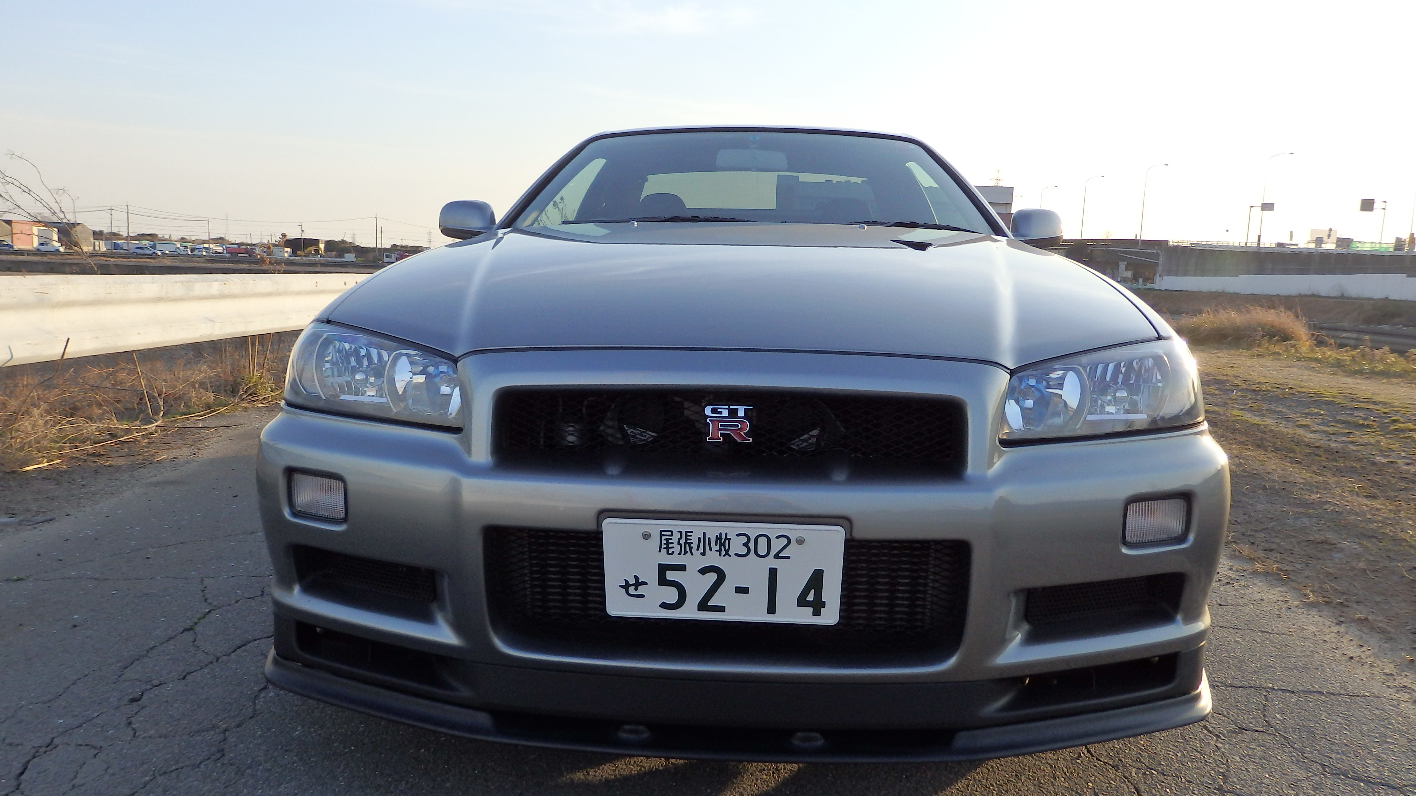 Nissan Skyline GTR R34 V spec II Nur for sale in Japan