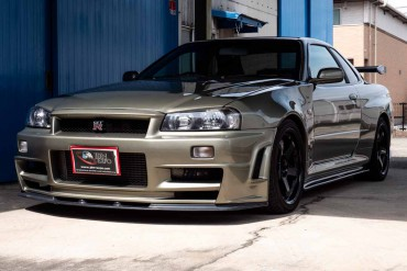 Nissan Skyline GTR R34 M-Spec for sale at JDM EXPO (N.8280)