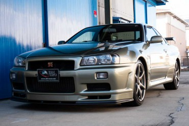 Nissan Skyline GTR R34 V-Spec II NUR for sale JDM EXPO (N.8291)