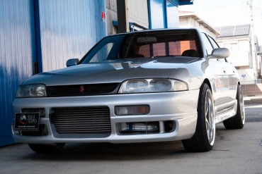 Nissan Skyline R33 for sale JDM EXPO (N.8296)