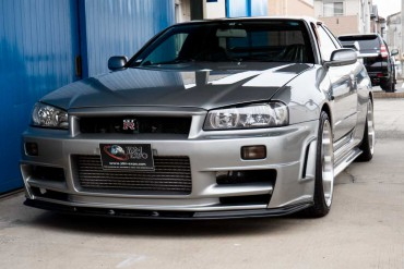 Nissan Skyline GTR R34 for sale JDM EXPO (N.8300)