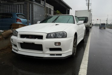 Nissan Skyline coupe GT-R 34 BNR34 RB26DETT for sale