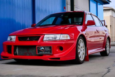 Mitsubishi Lancer Evo VII Tommi Makinen Edition for sale JDM EXPO (N.8336)