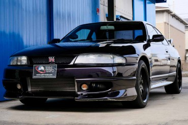 Nissan Skyline GTR R33 V-spec for sale JDM EXPO (N.8340)