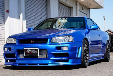 Nissan Skyline GTR R34 V-spec for sale JDM EXPO (N.8343)