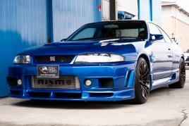 Nissan Skyline GTR R33 modified for sale (N.8354)