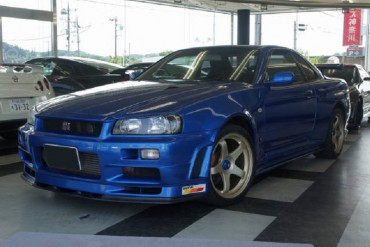 Nissan Skyline GT-R R34 V Spec II for sale (7860)