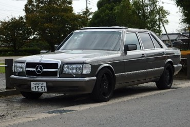 Mercedes Benz for sale at JDM EXPO Japan (N. 7739)