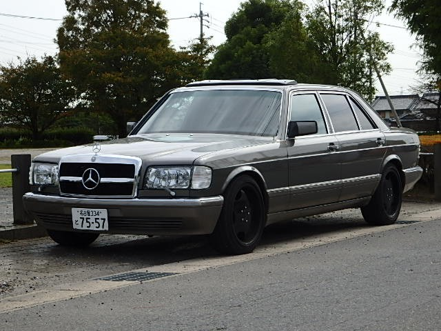 Buy mercedes benz 560sel 560sec wdb126 sale in japan jdm for Mercedes benz house of imports service