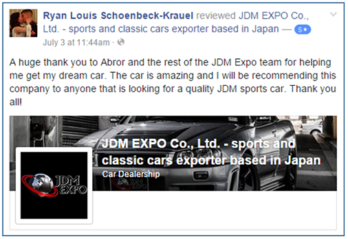 jdm expo customer testimonials