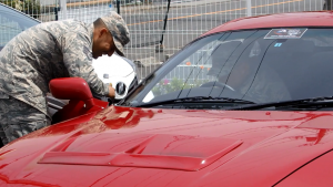 Toyota Supra Delivery Inspection at Yokosuka Base