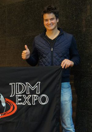 Dominik Farnbacher - a winner of dozens of racing tournaments including Daytona 24h & regular customer of JDM EXPO Cars