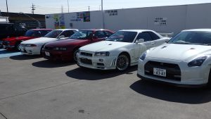 JDM Nissan GTR Generation @JDM EXPO Demo cars