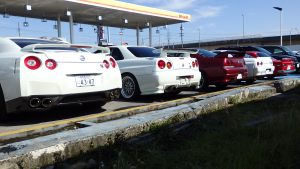 JDM EXPO Nissan GTR Generation Cars