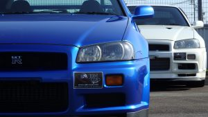 JDM EXPO Demo Cars. Skyline GTR R34 V-Spec II Nur