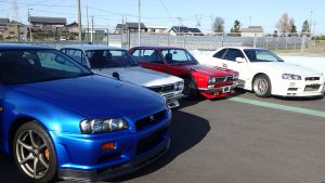 JDM EXPO Demo Cars @Yatomi Yard