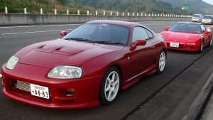 JDM EXPO's Toyota Supra & Honda NSX being delivered to its new owners in Yakosuka US Military Base