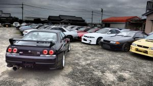 Skyline GTRs for sale at JDM EXPO Yatomi Yard #2